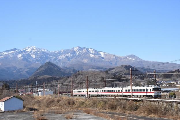 東武350型特急きりふり284号東武日光発車