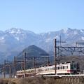 Photos: 女峰山と東武6050型下今市行き