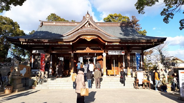 2018.1.3(兵庫/赤穂/大石神社-拝殿)