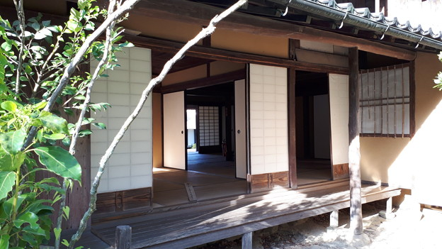 2018.8.14(山口/萩/吉田松陰幽囚ノ旧宅-縁側)