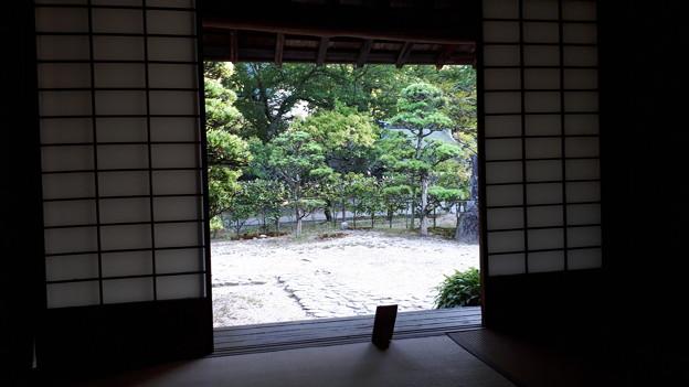 2018.8.14(山口/萩/吉田松陰幽囚ノ旧宅-縁側-内側から)