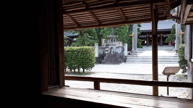 2018.8.14(山口/萩/吉田松陰幽囚ノ旧宅から見た松陰神社)