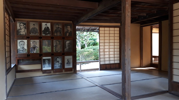 2018.8.14(山口/萩/松下村塾-塾生の写真)