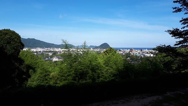 Photos: 2018.8.14(山口/萩/吉田松陰誕生地からの景色)
