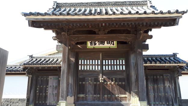 2018.8.14(山口/萩/明倫学舎/南門-アップ)