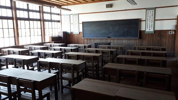 2018.8.14(山口/萩/明倫学舎/校舎-復元教室1)