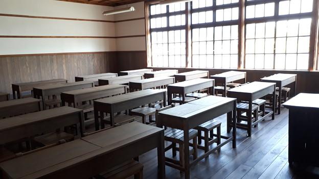 2018.8.14(山口/萩/明倫学舎/校舎-復元教室2)