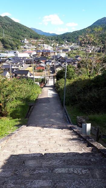 2018.10.8(兵庫/朝来市/表米神社から見た町並み)