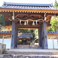 Photos: 2018.10.8(兵庫/朝来市/竹田/表米神社-楼門)