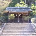 2018.10.8(兵庫/朝来市/竹田/表米神社-拝殿)