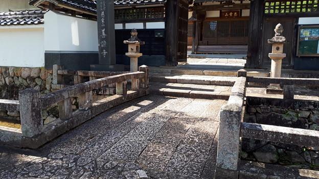 2018.10.8(兵庫/朝来市/竹田/善證寺前の橋)