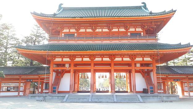 2018.11.11(京都/左京区/平安神宮/應天門-裏側)