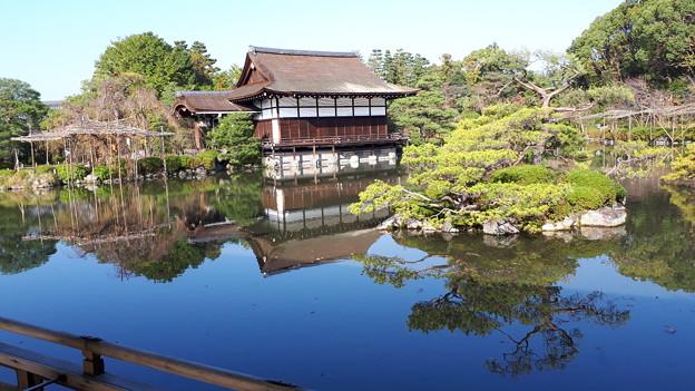 2018.11.11(京都/左京区/平安神宮/東神苑-泰平閣から見た尚美館)