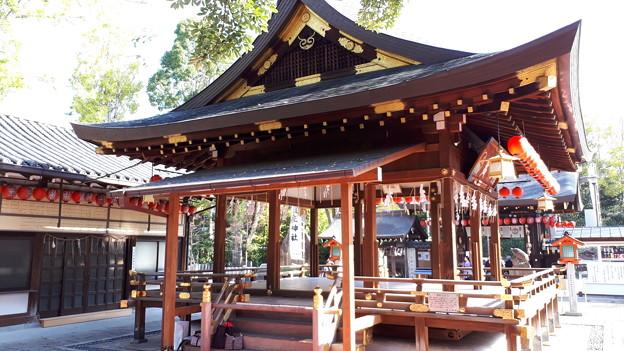 2018.11.11(京都/上京区/護王神社/拝殿 裏側)