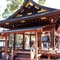 Photos: 2018.11.11(京都/上京区/護王神社/拝殿 裏側)