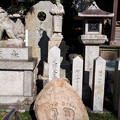 Photos: 2018.11.11(京都/上京区/護王神社/和気清麻呂公像と仏足石)