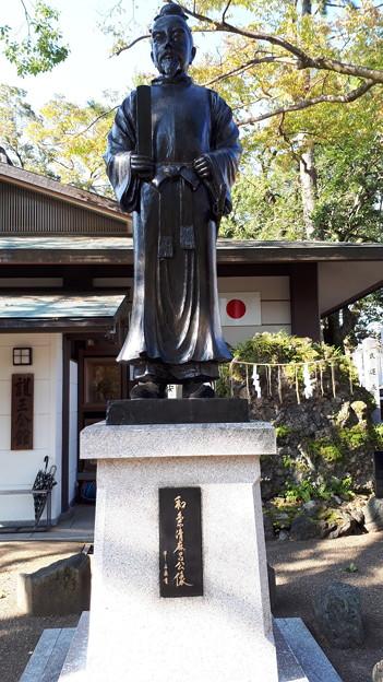 2018.11.11(京都/上京区/護王神社/和気清麻呂公像)