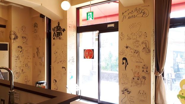 2018.11.11(京都国際マンガミュージアム/カフェレストラン 入口)