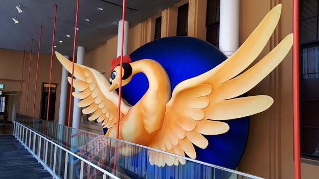 2018.11.11(京都国際マンガミュージアム/火の鳥オブジェ1)