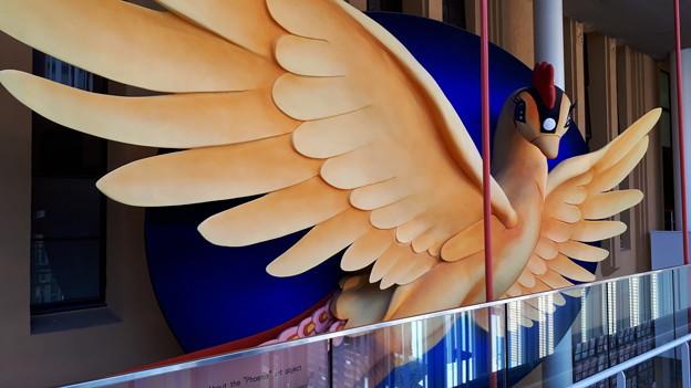 2018.11.11(京都国際マンガミュージアム/火の鳥オブジェ2)