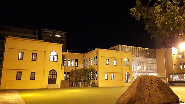 2018.11.11(京都国際マンガミュージアム/外観左側 夜)