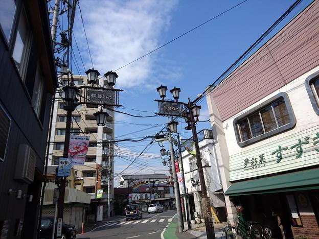 20180210-飯能銀座-街灯
