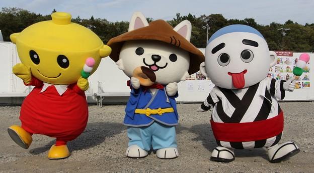 三重県のゆるキャラたち