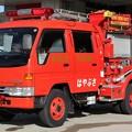 写真: 和歌山県有田市消防本部 CD-Iポンプ車「はやぶさ」