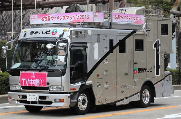 東海テレビ HD移動中継車