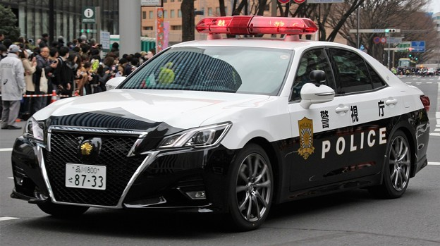 警視庁 交通機動隊 パトロールカー