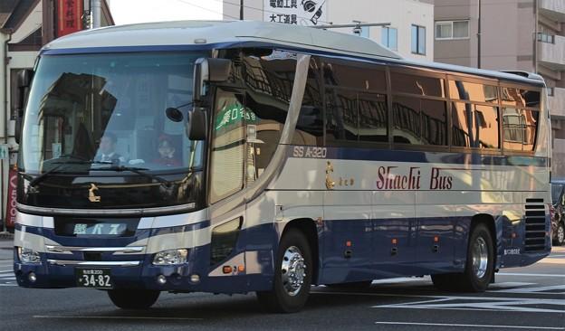 鯱バス ハイデッカー「SS A-320」