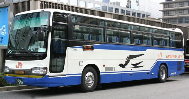 JR東海バス 昼間高速バス(ハイデッカー)