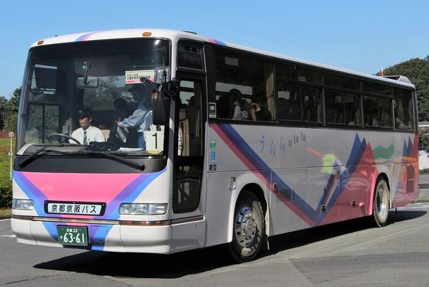 写真: 京都京阪バス ハイデッカー「うらら60」