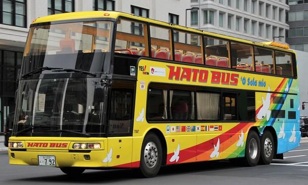 はとバス オープントップバス「オー・ソラ・ミオ」      (ダブルデッカー)