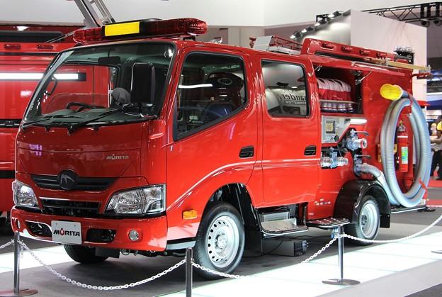 モリタ 普通免許対応CD-Iポンプ車「ミラクルライト」