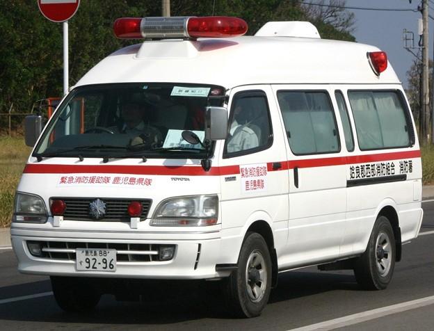 鹿児島県姶良郡西部消防組合 2B救急車