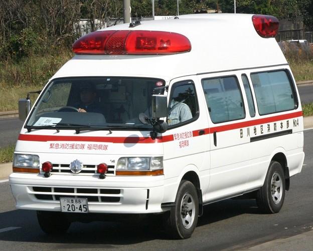 福岡県田川地区消防本部 高規格救急車
