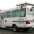 日本赤十字社 京都府支部 災害対応特殊救急車(後部)