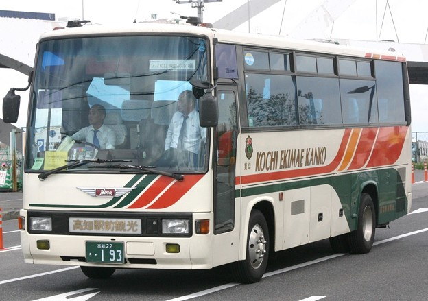 高知駅前観光 中型サロンバス
