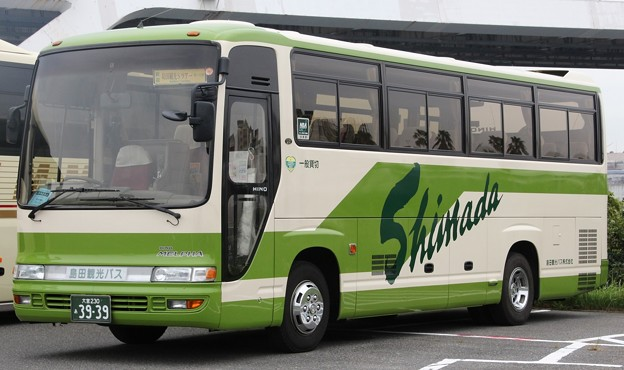 島田観光バス 中型観光バス