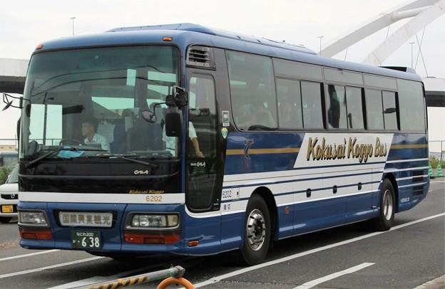写真: 国際興業大阪 ハイデッカー「ガーラ56」
