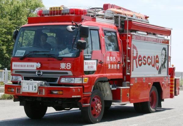 高知市消防局 lll型救助工作車