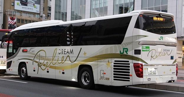 JRバス関東 夜行高速バス「ドリームルリエ号」       (ハイデッカー、後部)