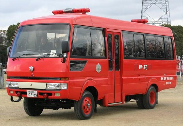 大阪府堺市高石市消防組合 人員輸送車