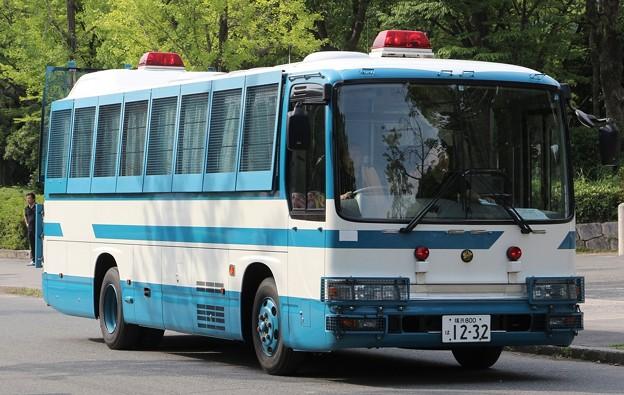 神奈川県警 第一機動隊 大型輸送車