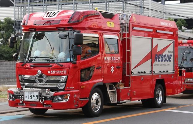 大阪府高槻市消防本部 高度救助隊 lll型救助工作車