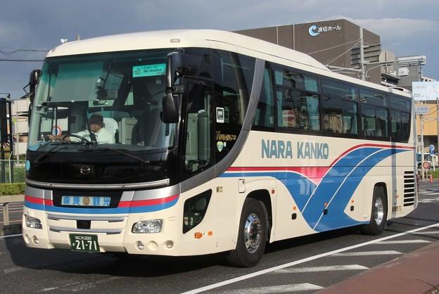 奈良観光バス ハイデッカー
