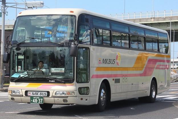 MK観光バス スーパーハイデッカー「エアロクイーンll」