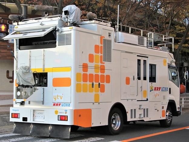 山口放送 HD移動中継車「さわやか号」(後部)
