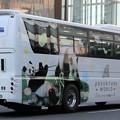 Photos: 明光バス 昼行高速バス(ハイデッカー)            「パンダ白浜エクスプレス~未来をツナグ Smileバス~」(後部)